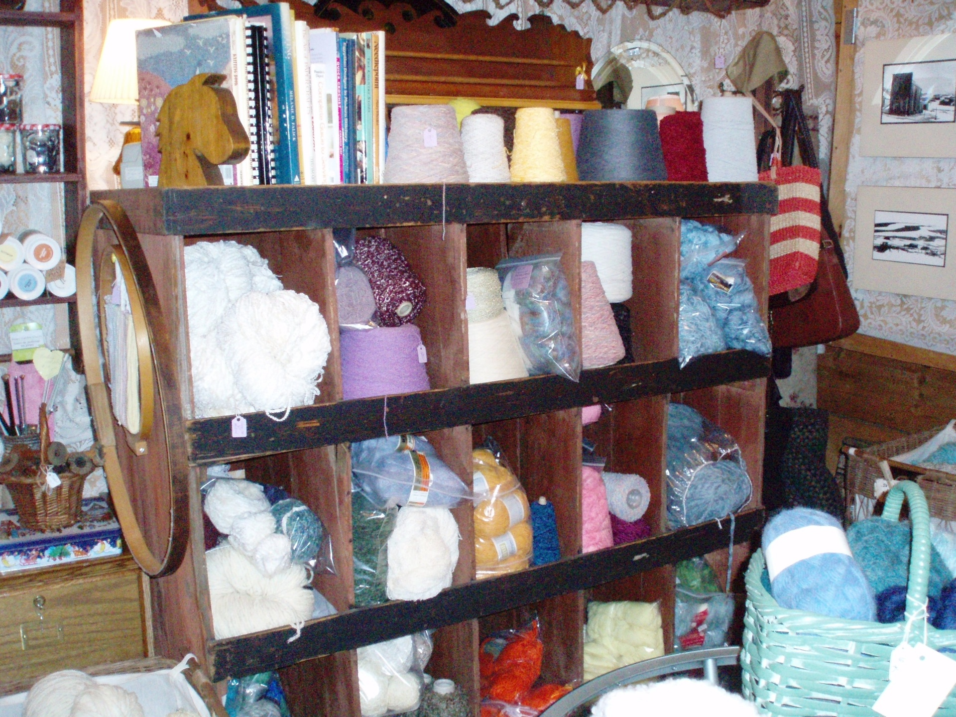 Large selection of yarn at very low prices
