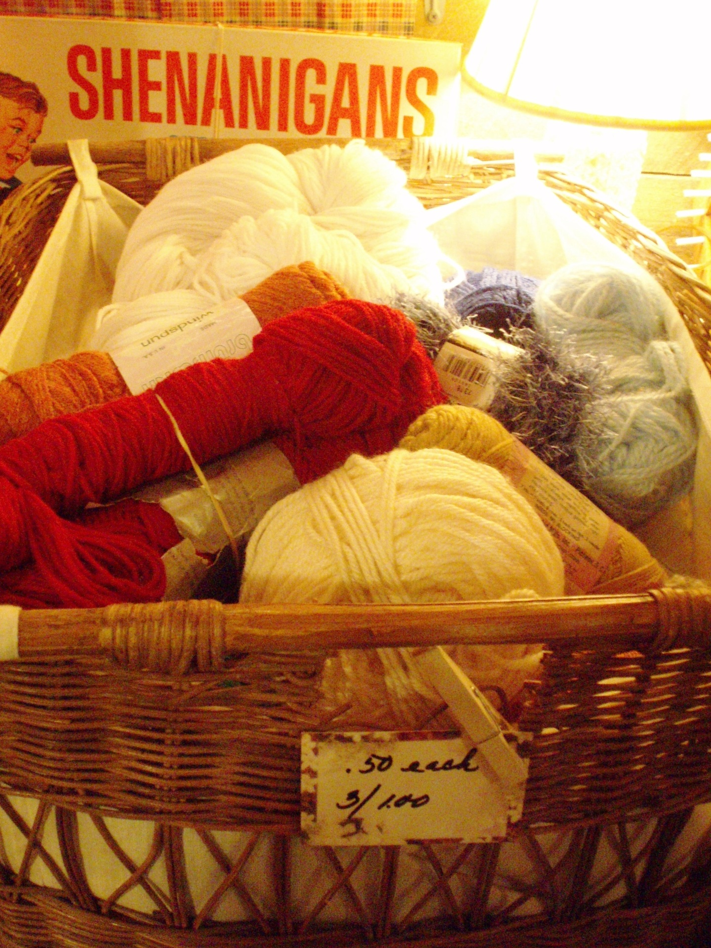 more skeins of yarn at a very low price!